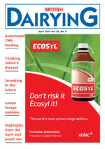 Cover image of British Dairying April 2014