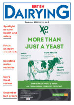 Cover image of British Dairying December 2014 edition