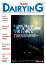 Cover image of British Dairying January 2015 edition