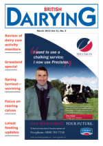 Cover image of British Dairying magazine March 2015