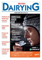 Cover image of British Dairying August 2015 edition
