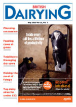 Cover image of British Dairying May 2016 edition