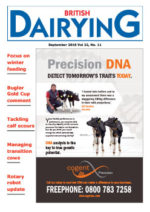 Cover image of British Dairying September 2016 edition