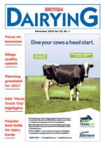 Cover image of British Dairying, November 2016 edition