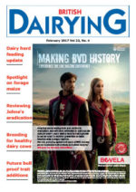 Cover image of British Dairying February 2017 edition
