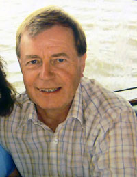 Image of former publisher and advertising manager at British Dairying, Malcolm Bridges