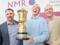 Image of the winners of the NMR/RABDF Gold Cup 2017 as reported in British Dairying magazine for UK dairy farmers
