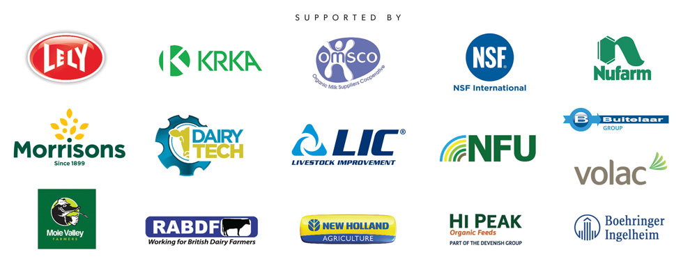 Logos of the sponsors of the Cream Awards